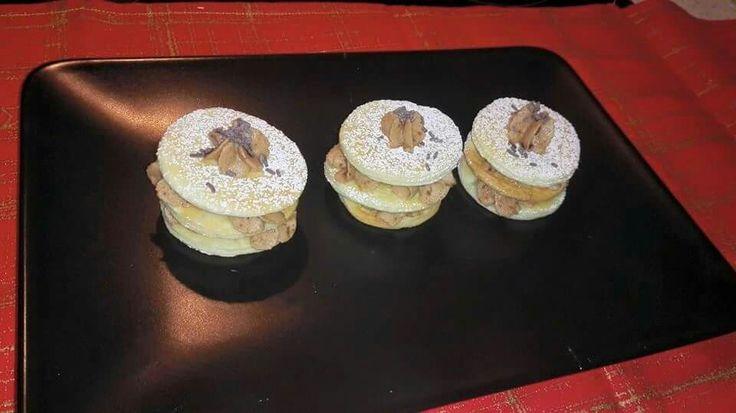 Milhoja de trufa: Receta en http://condulcesmanitas.blogspot.com.es/?m=1.