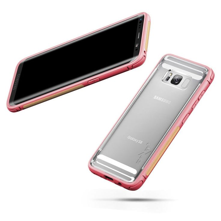 Zizo FLUX gives your Samsung Galaxy S8 a protective edge while maintaining a slim fit profile and having a variety of colored bumpers to choose from.