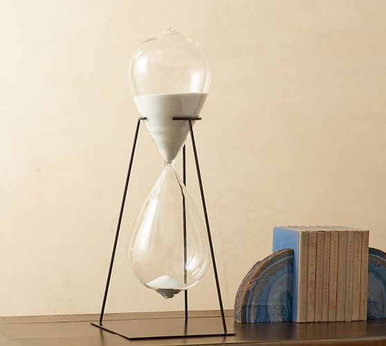 Hourglass on Stand Object | Pottery Barn