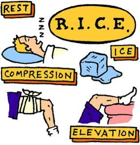 RICE Treatment for Knee Injuries