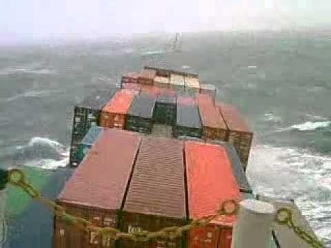 Шторм 11 баллов, Атлантический океан.avi