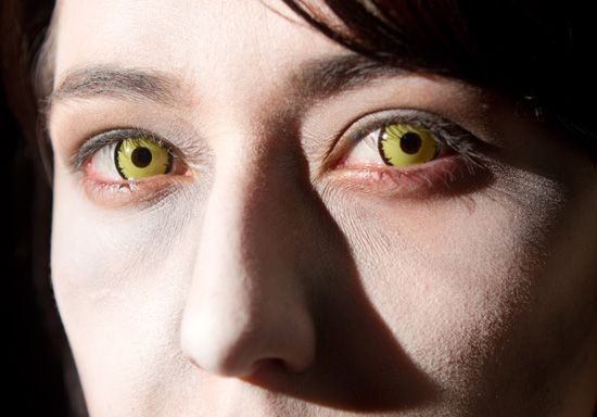 Yellow Contact Lenses For Halloween Bing Images
