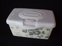 Modern Simplicity: 50 Uses for Those Rectangular Baby Wipes Containers!