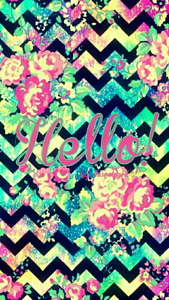 Hello! Floral galaxy wallpaper I created for the app CocoPPa.