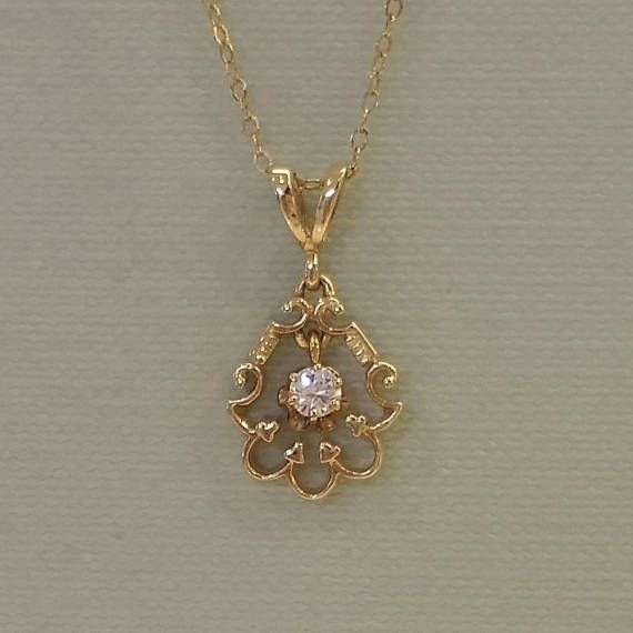 12158 best diamond pendant images on pinterest diamond pendant vintage diamond pendant mozeypictures Image collections