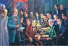 La Trinitaria was the organizer of the formation and independence of the Dominican Republic.