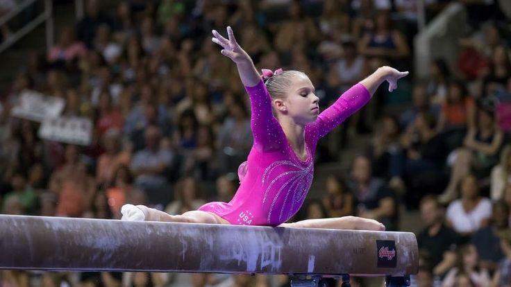 ragan smith gymnastics   stunning photos from the U.S. Olympic gymnastics trials