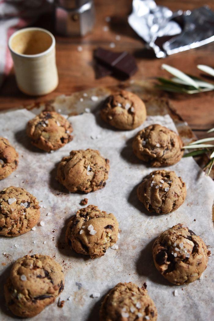Organic Ash: PECAN SALTED CHOCOLATE COOKIES (gf)