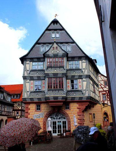 Popular Oldest still running hotel Miltenberg Germany