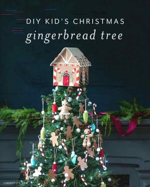 Best Christmas Gifts 2020 Fir Neb Kinder Lebkuchen Weihnachtsbaum mit DIY Dekorationen