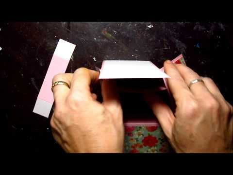 """▶ Pop Up Box Card - YouTube the card will fit nicely in a 6"""" x 8"""" envelope. Finished size closed is 5.5"""" x 6.5"""".  Read more: http://www.splitcoaststampers.com/resources/tutorials/popupboxcard/P20/#ixzz2tII2P0bY"""