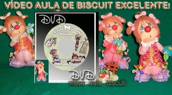 Vídeo-aula DVD Palhacinha Xuxuquinha    adquira também por Depósito bancário    Banco do Brasil  Francisco A Macedo  Agência 4273-0  Conta poupança 8875-7  **********************************************  Banco Itaú  Evelyn Nataly C P Macedo  Agência: 1016  Conta 39847-9  *******Você pode parcelar no cartão!!!!!!!!    è uma super aula ensinando todos os detalhes até para iniciantes que não modelam com esta aula aprende fácil adquira a sua! com nova capinha  É uma aula de biscuit na sua casa…