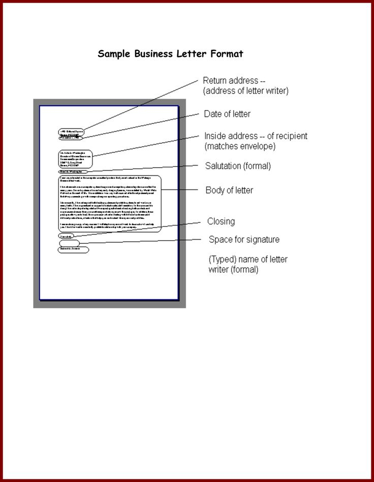 25+ melhores ideias de Amostra de formato de carta formal no - sample closing a business letter