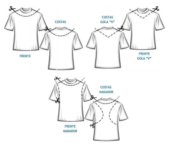 transformar camiseta em regata feminina - Pesquisa Google