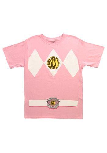 Pink Power Ranger T-Shirt