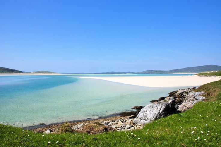 Luskentyre beach, Isle of Harris. Scotland. - Explore the World with Travel Nerd Nici, one Country at a Time. http://TravelNerdNici.com
