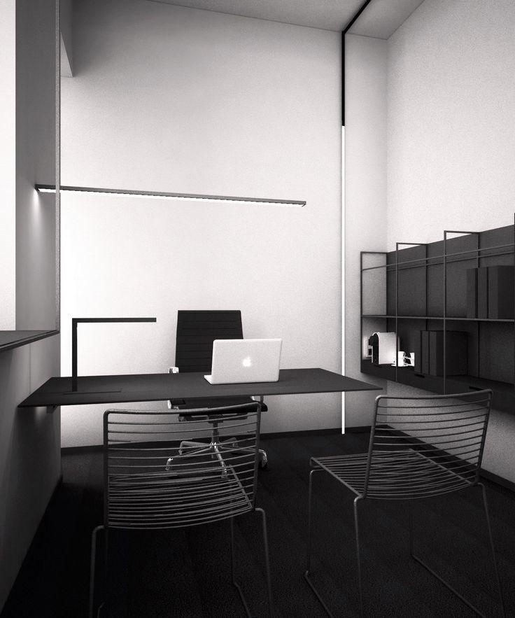 Z A M E K _D E S I G N_Minimal black&white workspace