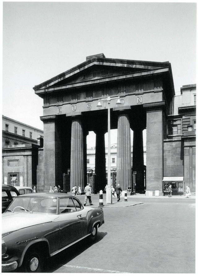 Euston Station, London, 1962