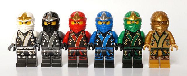 Zane cole kai jay lloyd and golden lloyd lego - Ninjago kai jay zane cole lloyd ...