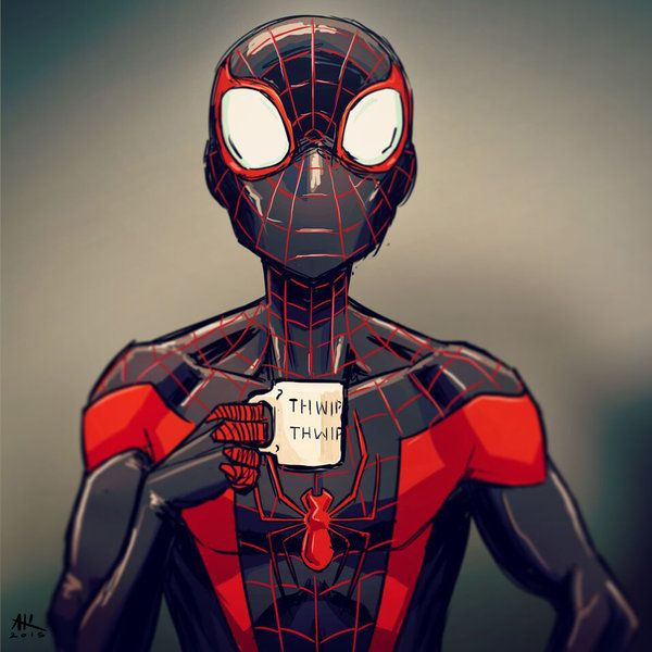 Mugshot Monday: Miles Morales by AndrewKwan on DeviantArt