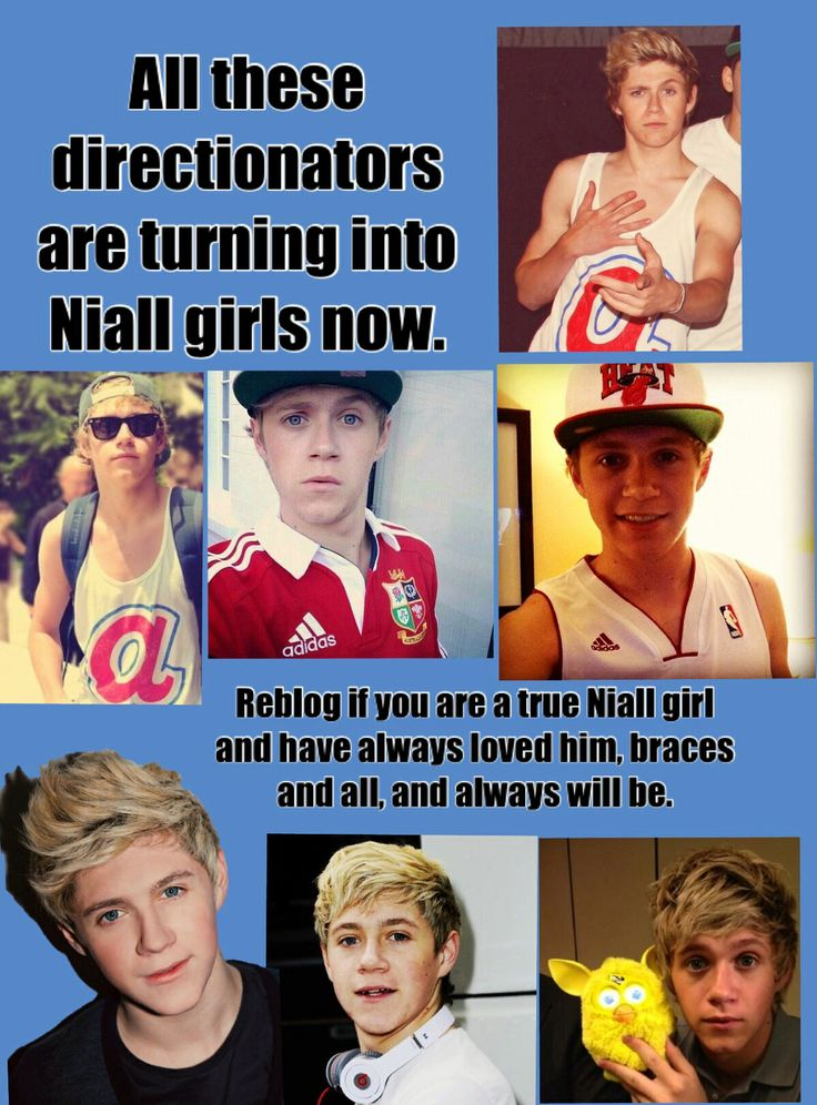 All directioners are suddenly turning into niall girls for his snap backs and his tank tops. But that's not just who he is. All of the original Niall girls have loved him because he was cute and his wonderful personality. He is amazing. And I always have and always will be a Niall girl. <3