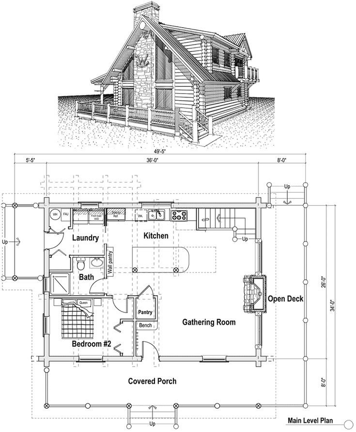 small house plans cottage house lofts and house