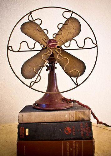 lovely old fan