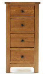 Yoke Oak 4 Drawer Narrow Chest http://solidwoodfurniture.co/product-details-oak-furnitures-2604-yoke-oak-drawer-narrow-chest.html
