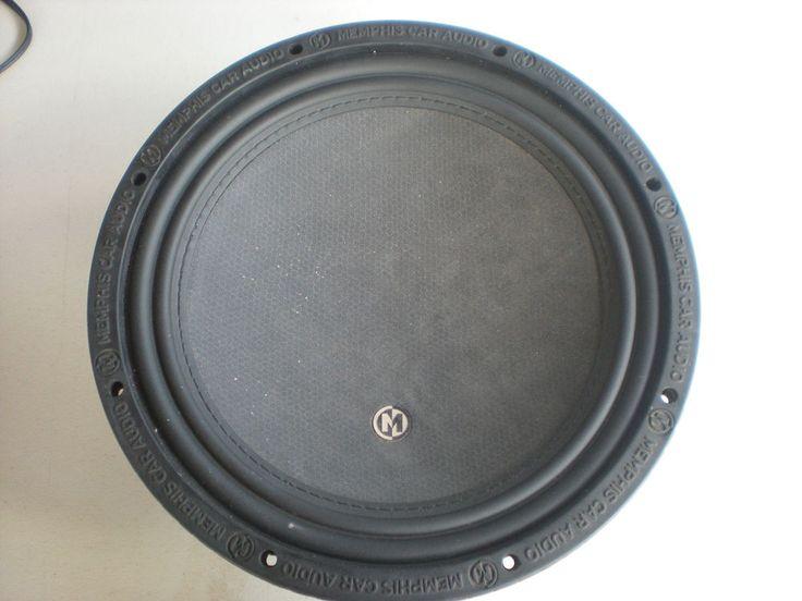 """Memphis Car Audio 15-MC12D4 12"""" DVC 4-Ohm Subwoofer Speaker NEW"""