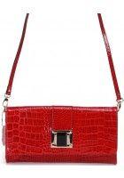 Monda --Small Leather Clutch Purse Bag