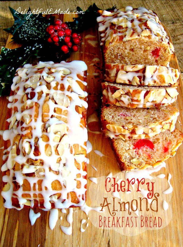 Cherry Almond Breakfast Bread