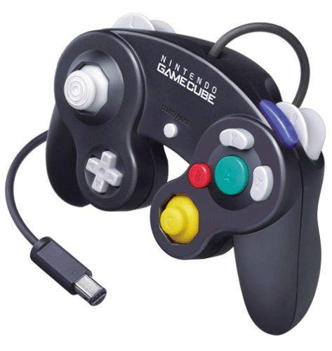 Jet Black GameCube Controller