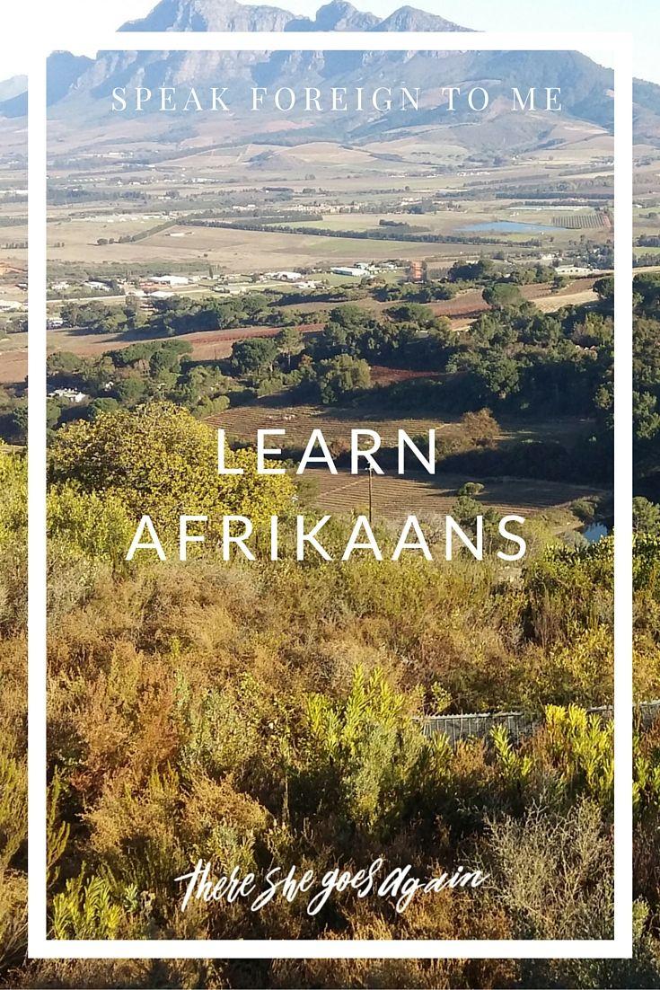 Learn Afrikaans