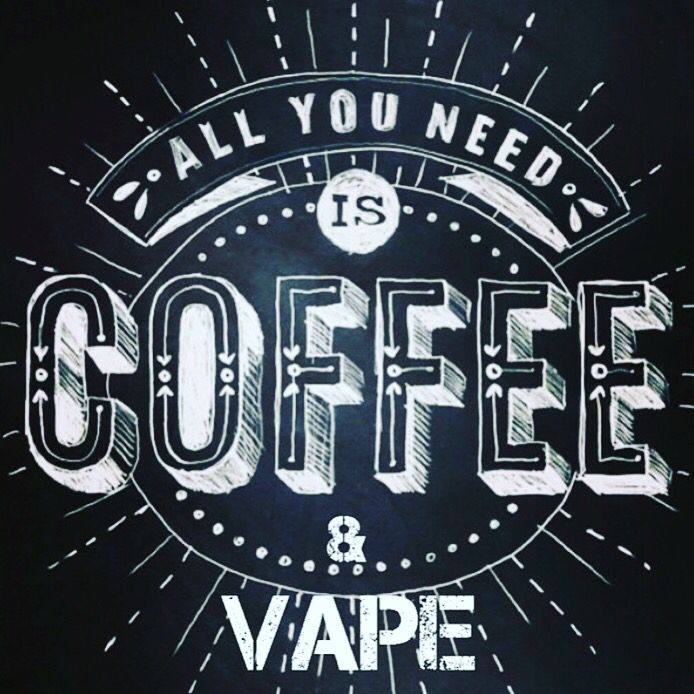 Monday vibes at Tank Puffin HQ!! Why not kill 2 birds with 1 stone - vape Cafe…  #RePin by AT Social Media Marketing - Pinterest Marketing Specialists ATSocialMedia.co.uk