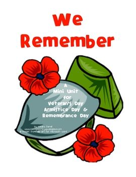 This is a Language Arts unit for Early Primary. Remembrance Day