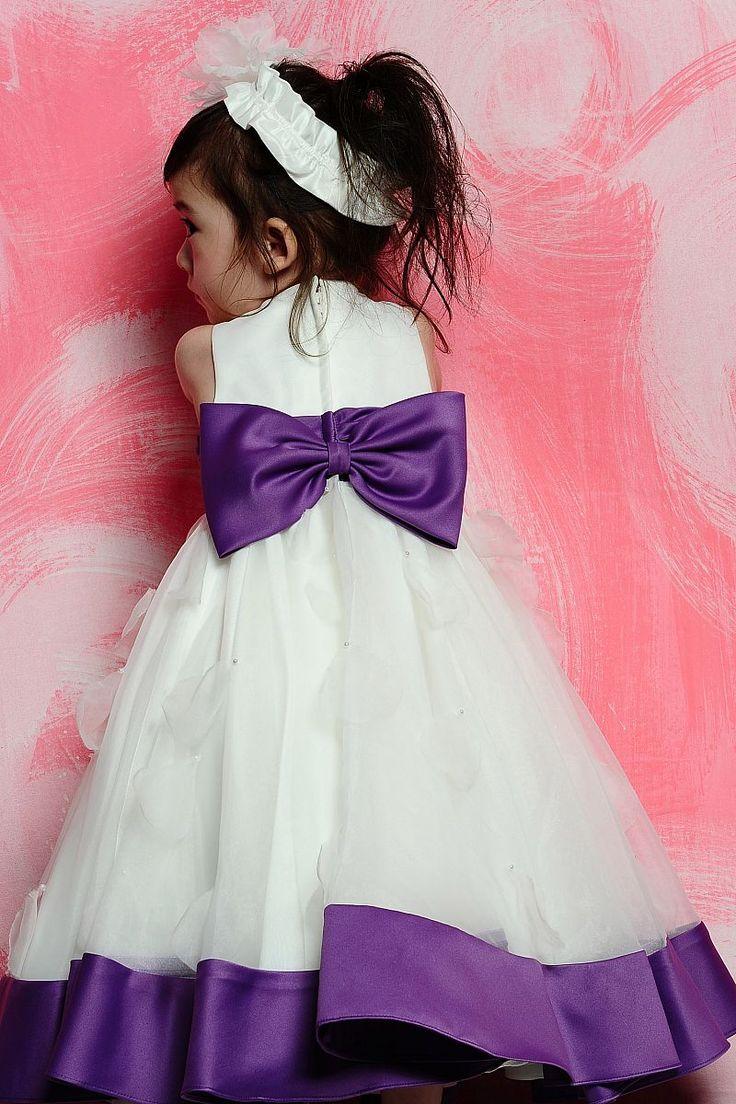 21 best flower girl dresses images on pinterest bohemian flower scoop empire waistline bow tie beadings flower girl dress dressfame izmirmasajfo Images