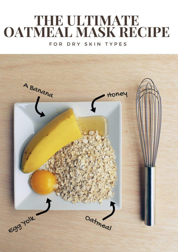 The Ultimate Diy Oatmeal Mask For Dry Combination And Normal Skin Types Creative Fashion Blog Oatmeal Mask Mask For Dry Skin Dry Skin Types