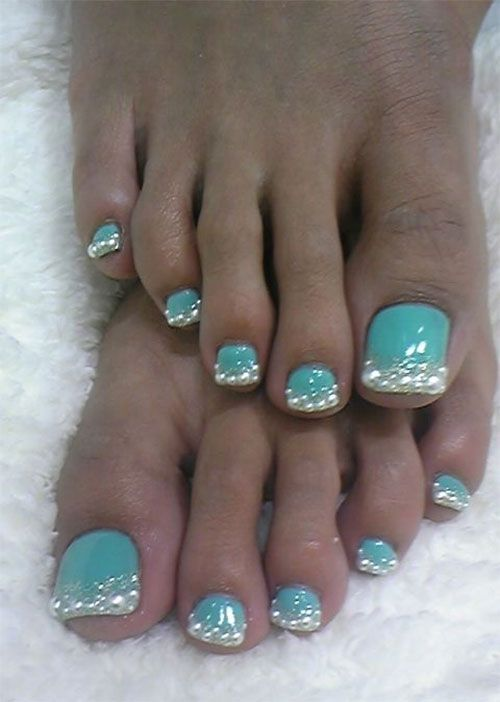 17 Best Images About Winter Toe Nail Art Designs On