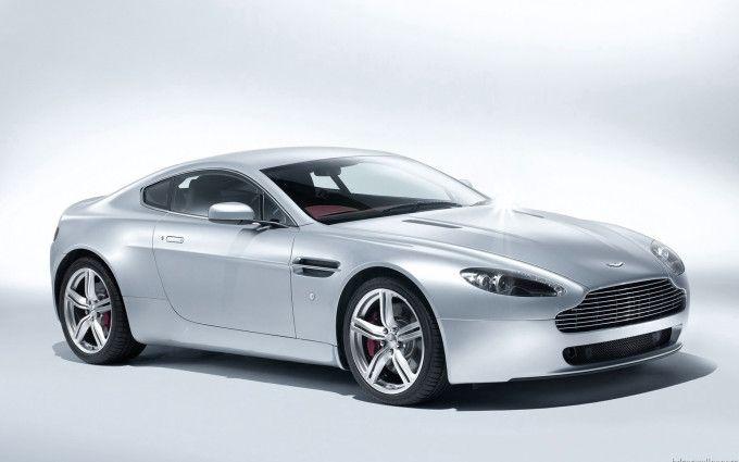 Aston Martin V8 Vantage Coupe 2009 Silver