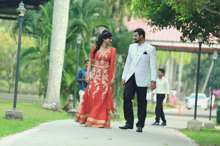 Kerala Christian bride... And groom.. Rosu and rony... Betrothal