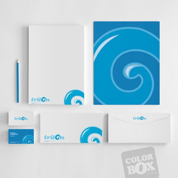 Professional stationary design for a sea food distribution company  #stationary  #logo #logotype #branding #brand #design #folder #ad #advertising #marketing #businesscard