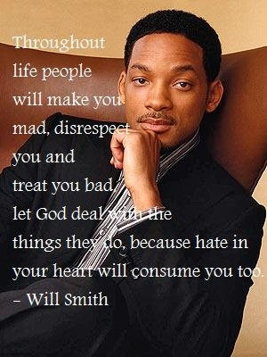 Will Smith, always has powerful words to share