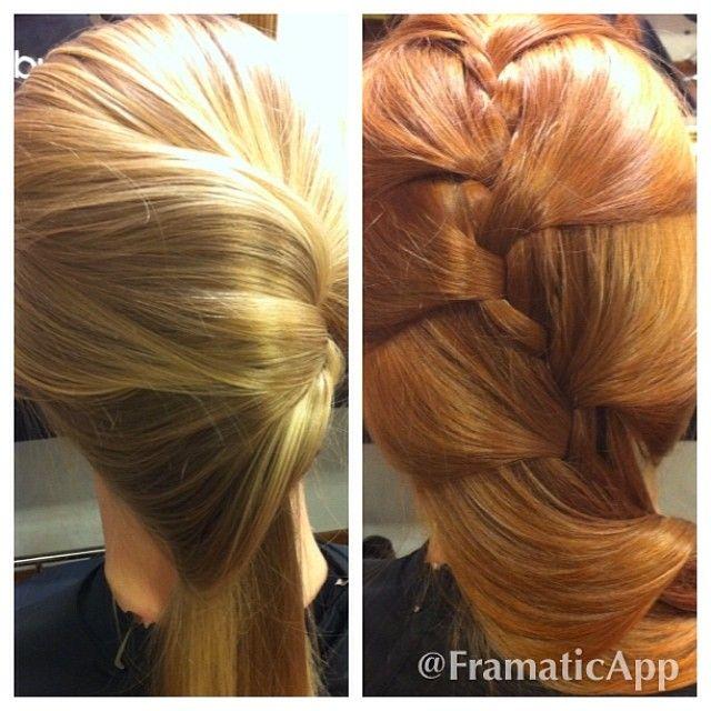@FramaticApp, #Framatic #kultakupari #kupariväri #hiukset #punaisethiukset  Vaaleasta herkullinen kultakupari
