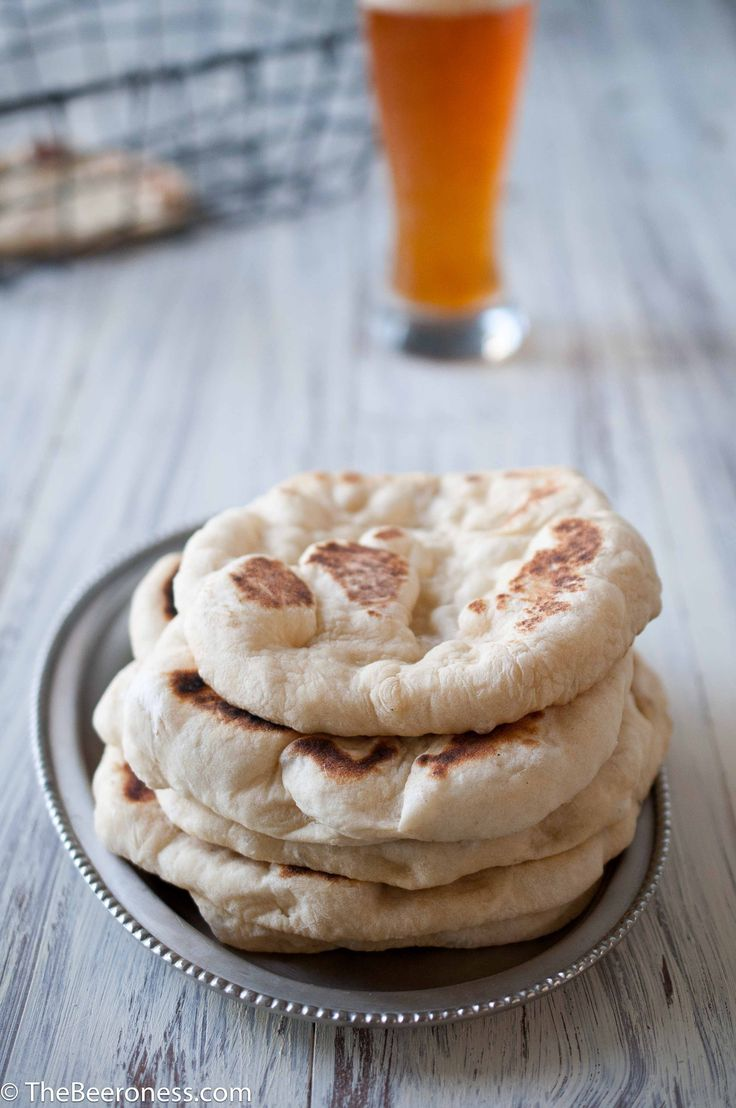 Homemade Garlic Beer Pita Bread @Jackie Dodd {Domestic Fits}