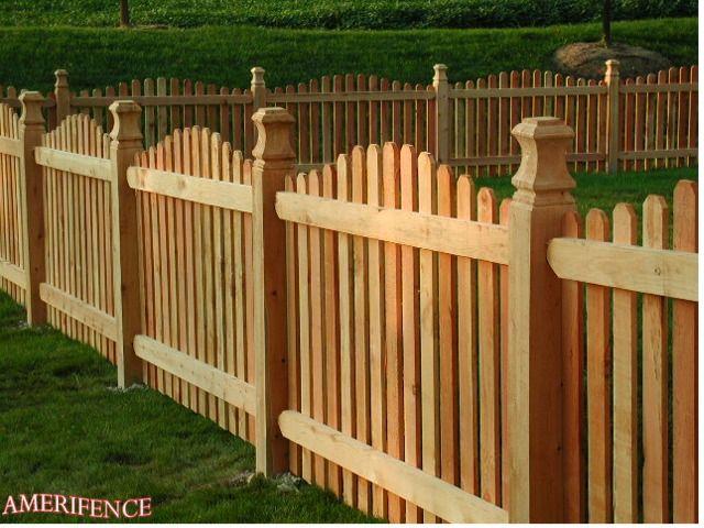 11 best Wood Fences images on Pinterest Backyard ideas Fence