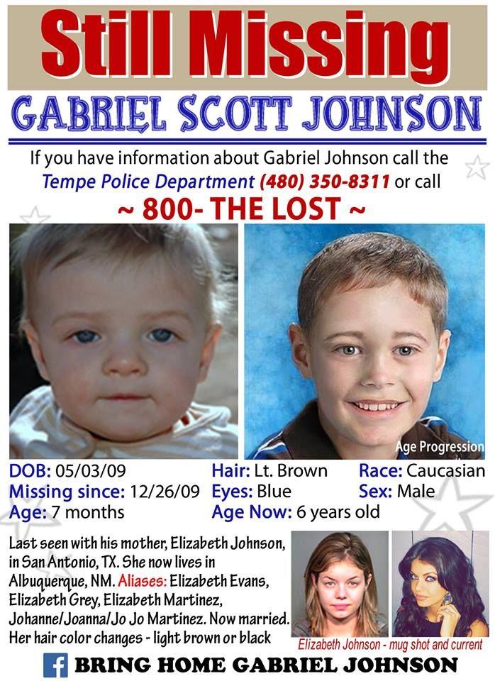 Find Missing Baby Gabriel Johnson! | Missing Children