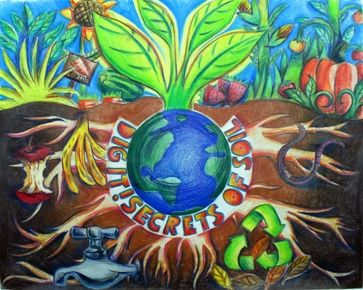 """Soil and Water Conservation """"Dig It Deeper Secrets of Soil' Poster Idea"""