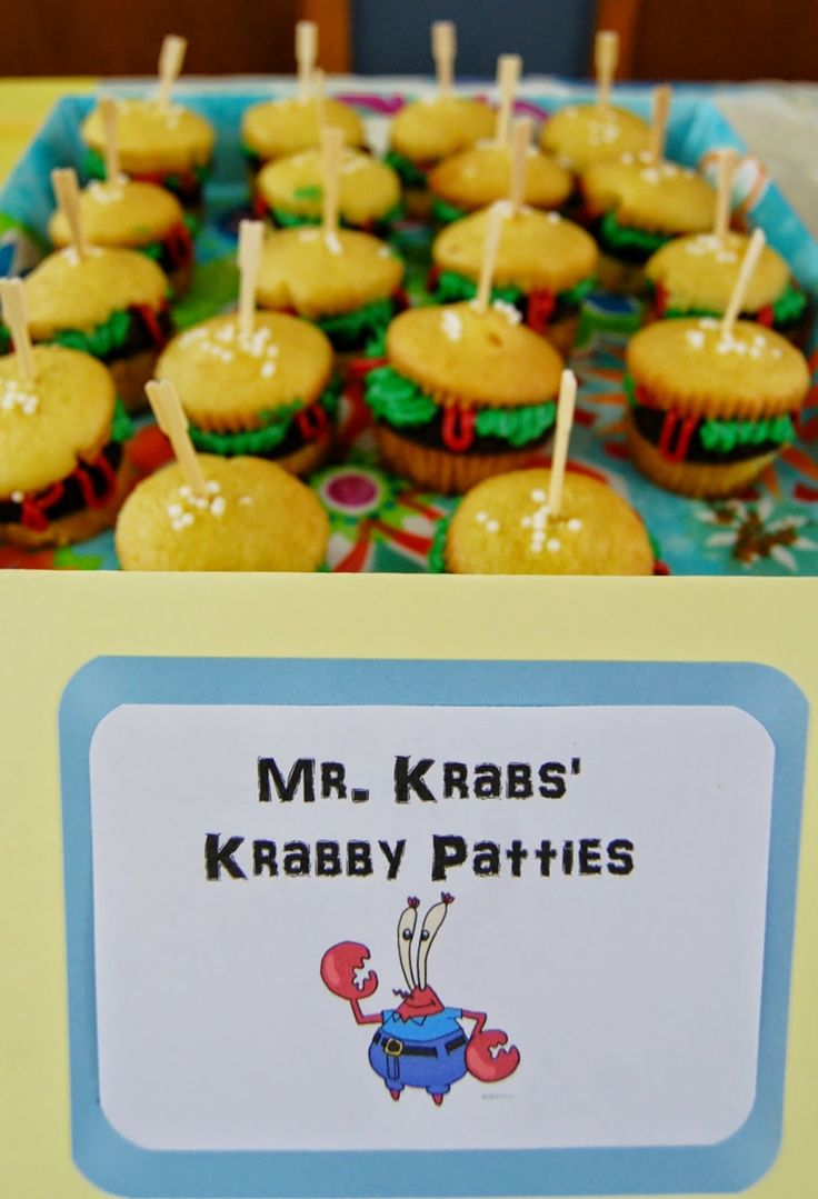 21 best SpongeBob end of year party images on Pinterest | Birthdays ...