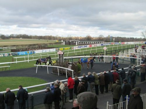 Sedgefield Racecourse - parade ring
