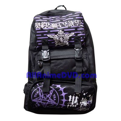 Black Butler Backpack | ... Black Butler Merchandise such as necklace, keychain, bags & toys at